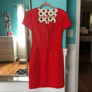Trina Turk Orange Business Casual Dress